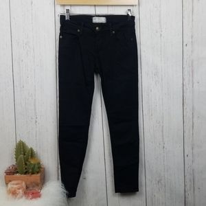 Free People black skinny leg Jeans size 26